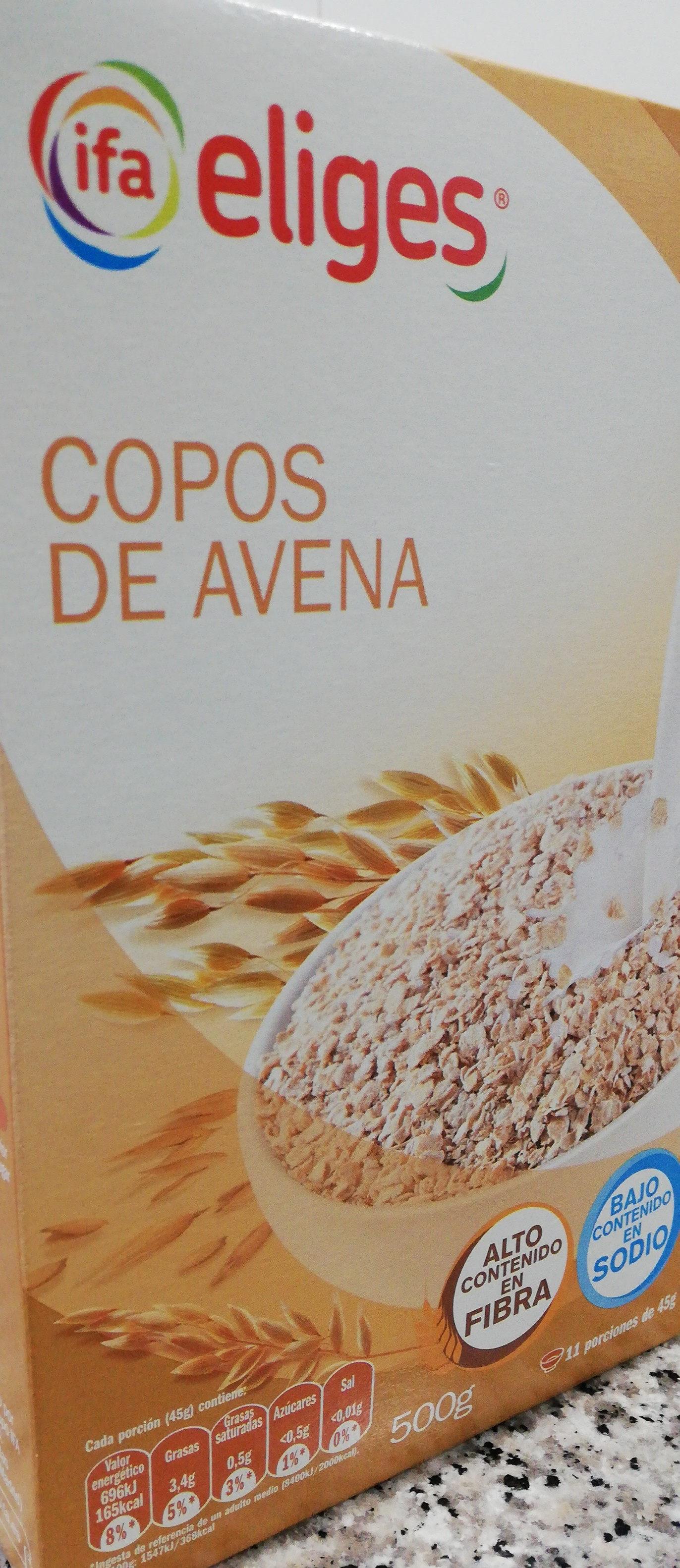 Copos de Avena - Produit