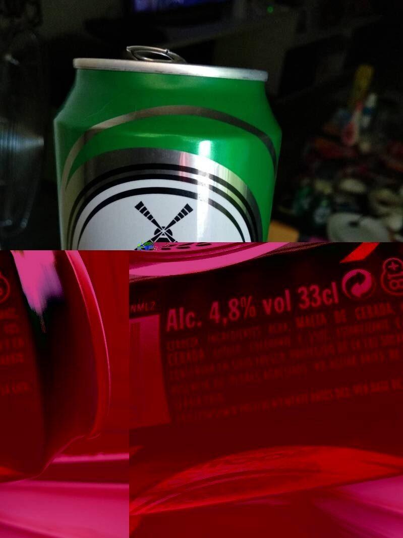 Cerveza Lager - Informations nutritionnelles - es