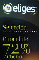 Chocolate 72% - Producto