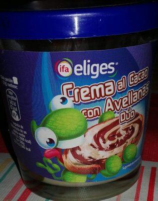 Crema al Cacao con Avellanas Dúo