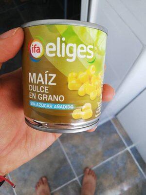 Maíz dulce en grano s/a IFA