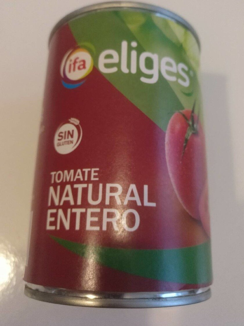Tomate natural entero - Product
