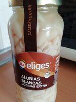 Alubias blancas cocidas - Producte