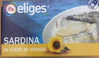 Sardinas aceite girasol - Produit - es
