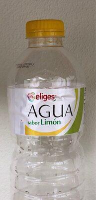 Agua sabor limón - Produit - es