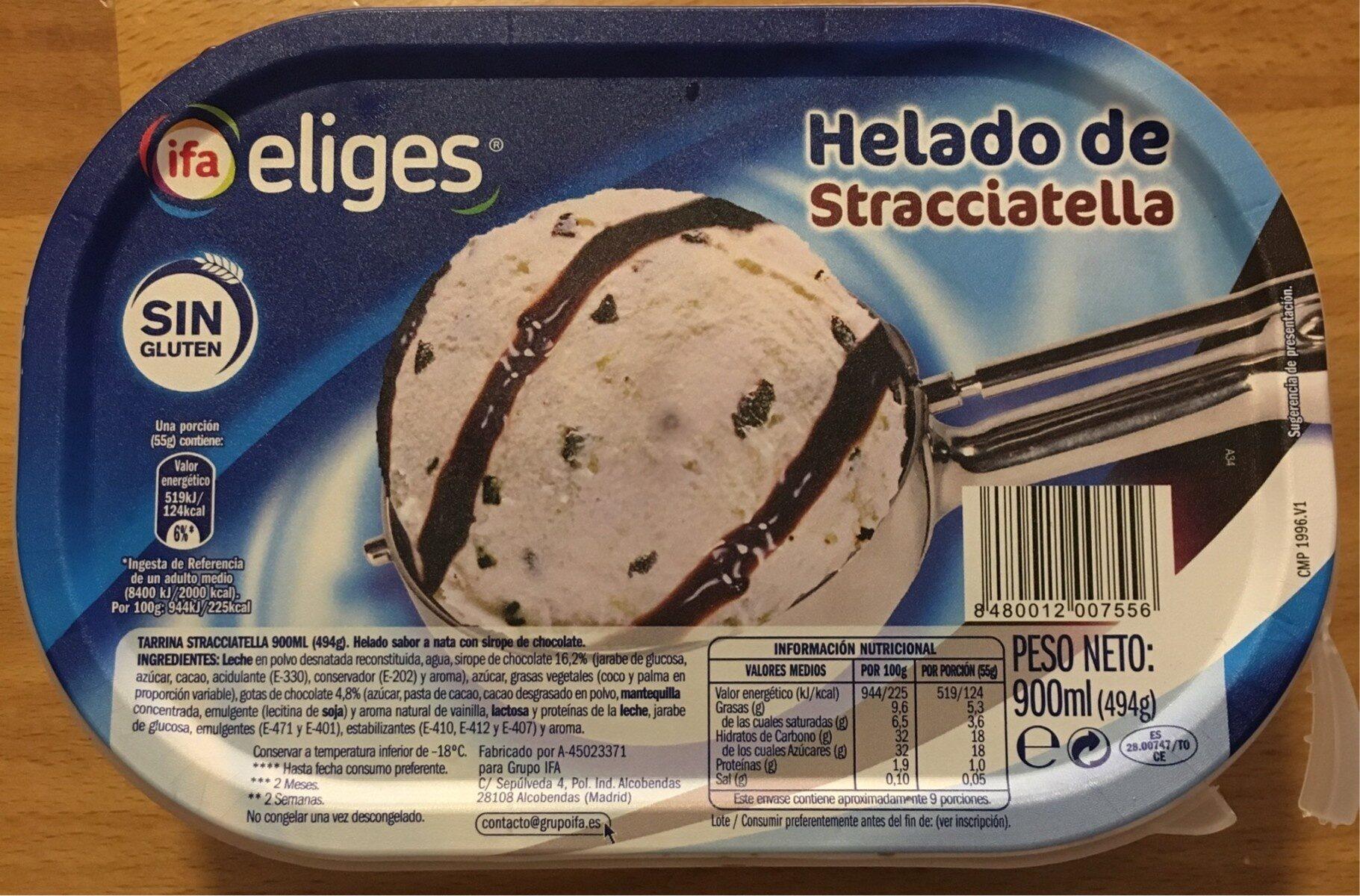 Helado de Stracciatella - Product - es