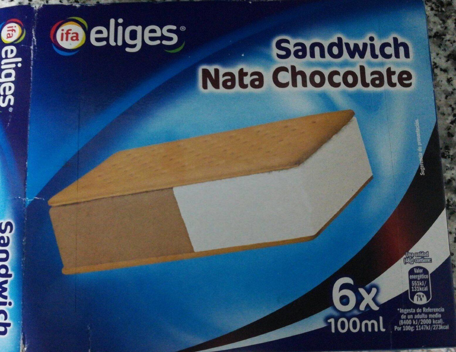 Sandwich nara chocolate - Producte