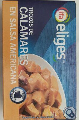Trozos de Calamares en Salsa Americana - Product - es