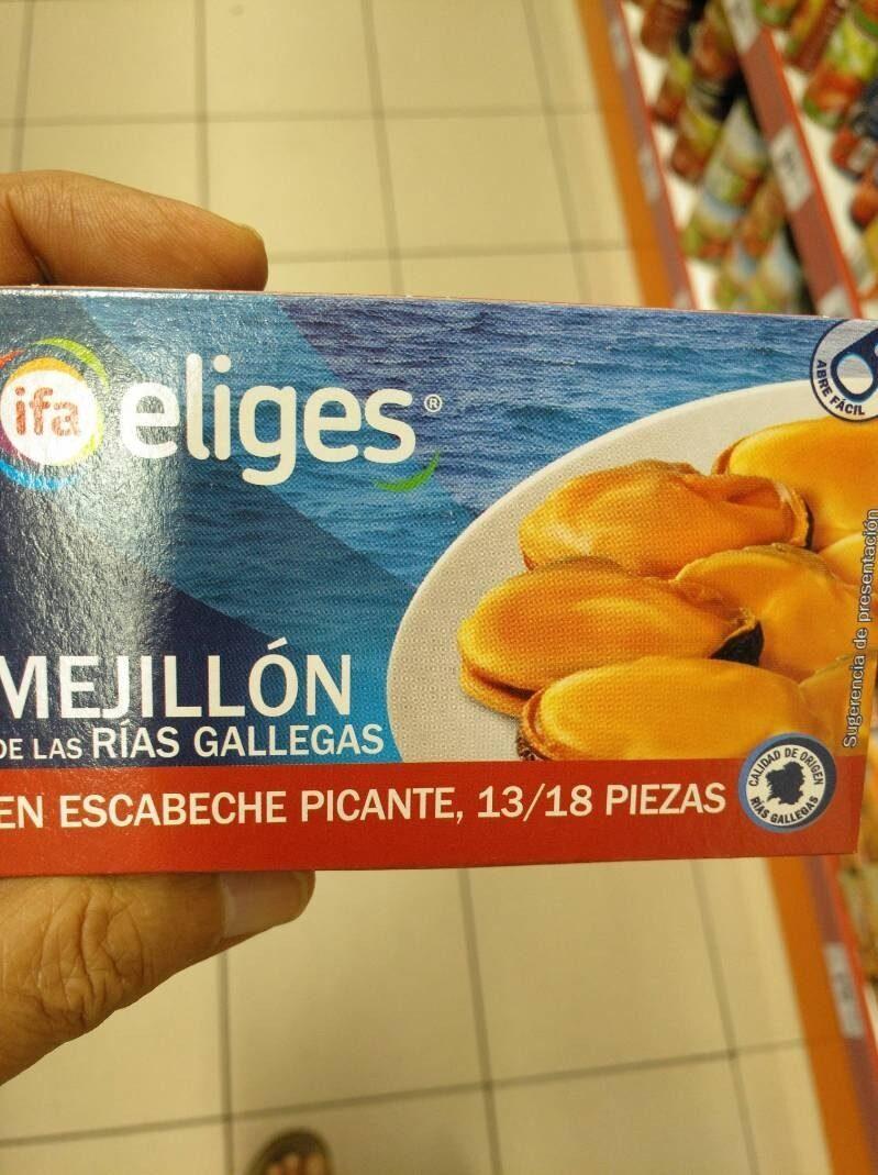 Mejillón de las Rías Gallegas - Informations nutritionnelles - es