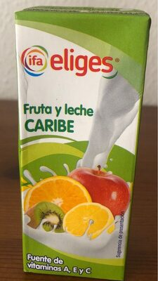 Zumo Fruta y Leche Caribe