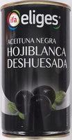 Aceituna negra hojiblanca deshuesada - Producto - es