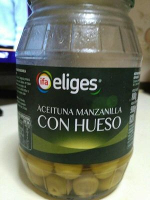 Aceituna Manzanilla con Hueso - Producte