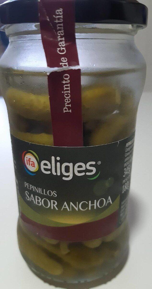 Pepinillos sabor anchoa - Produit - es
