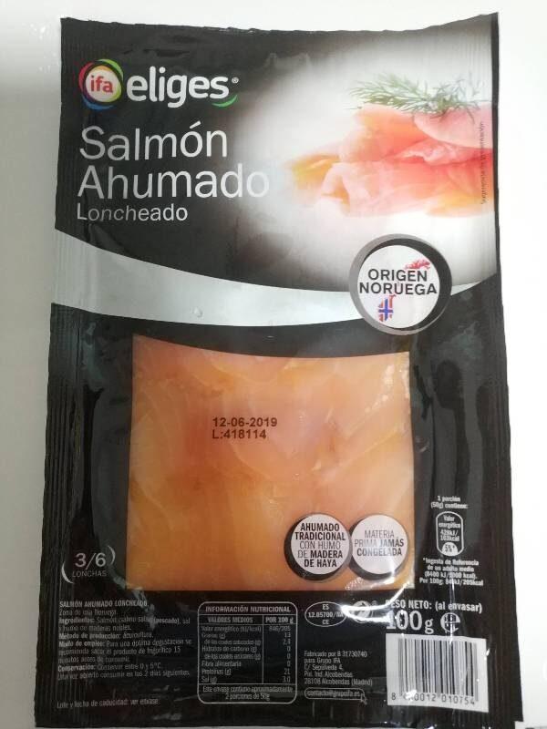 Salmon ahumado - Product