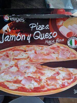 Pizza Jamòn y Queso