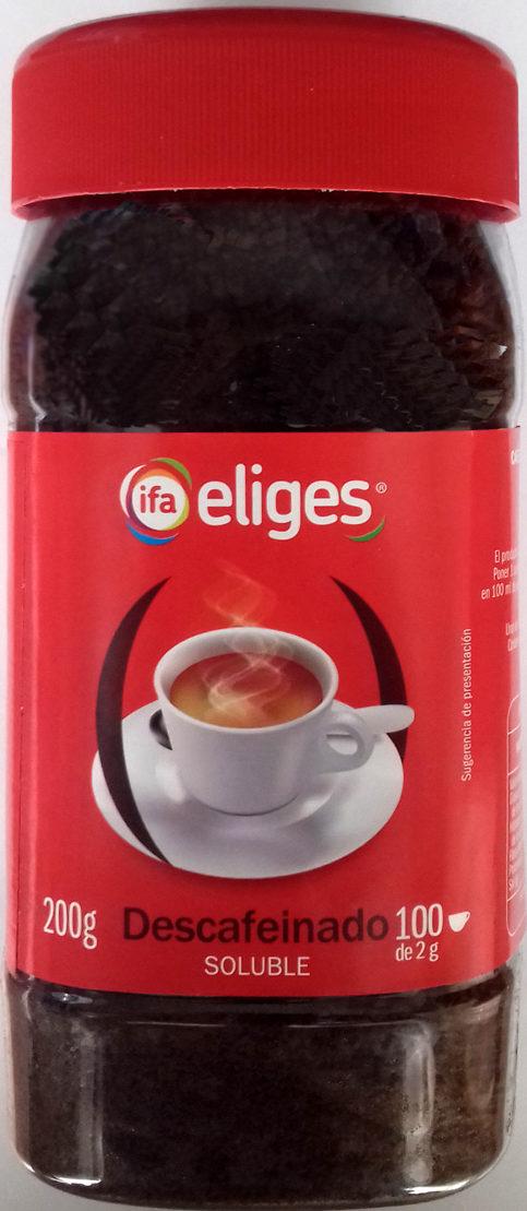Café soluble descafeinado - Product