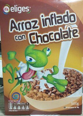 Arroz Inflado con Chocolate