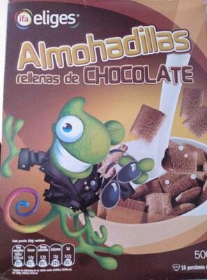 Almohadillas rellenas de chocolate - Producto