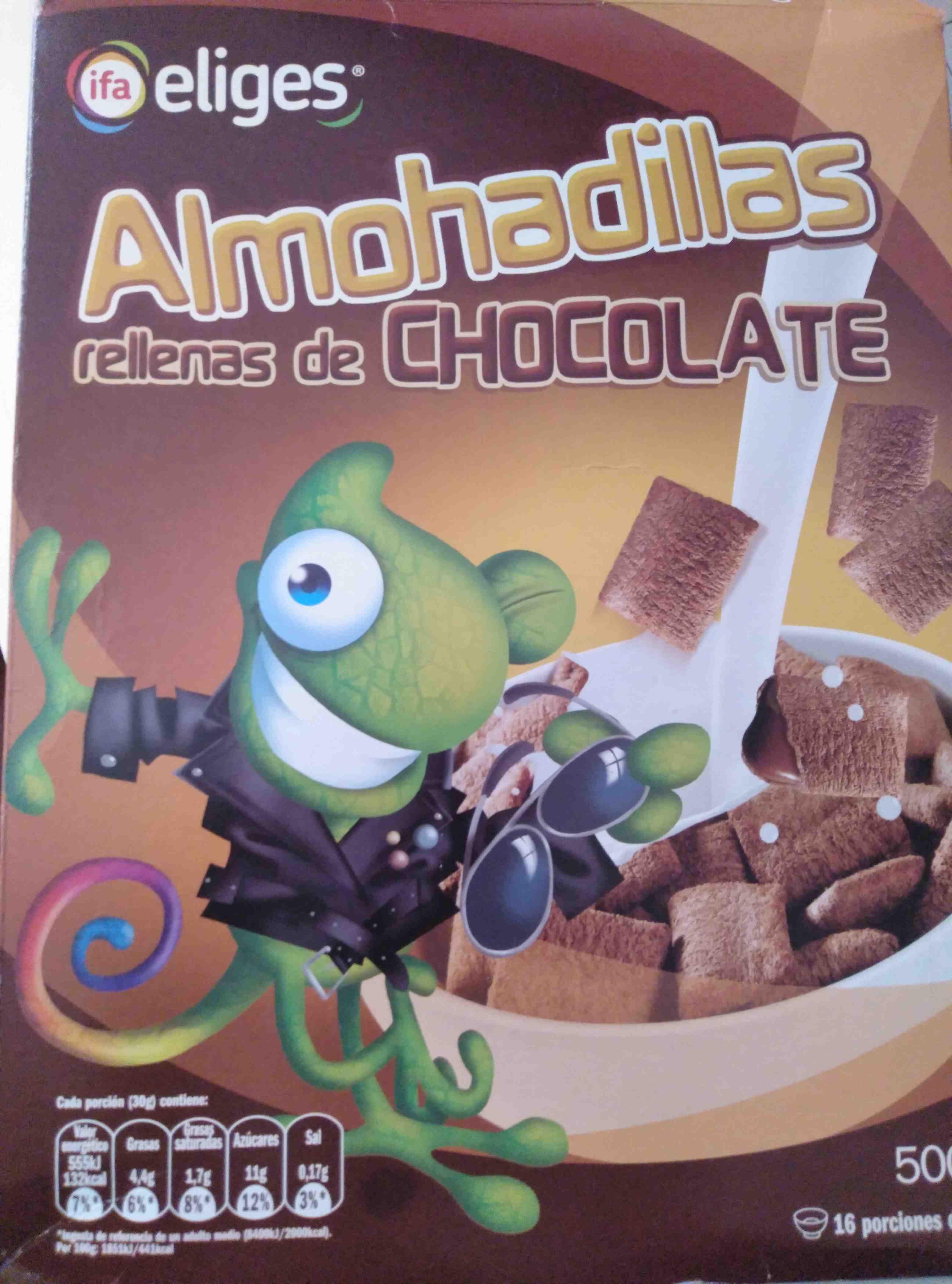 Cereales Almohadillas Choco. 500 G. ifa Eliges - Producte