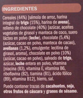 Cereales Almohadillas Choco. 500 G. ifa Eliges - Ingredientes