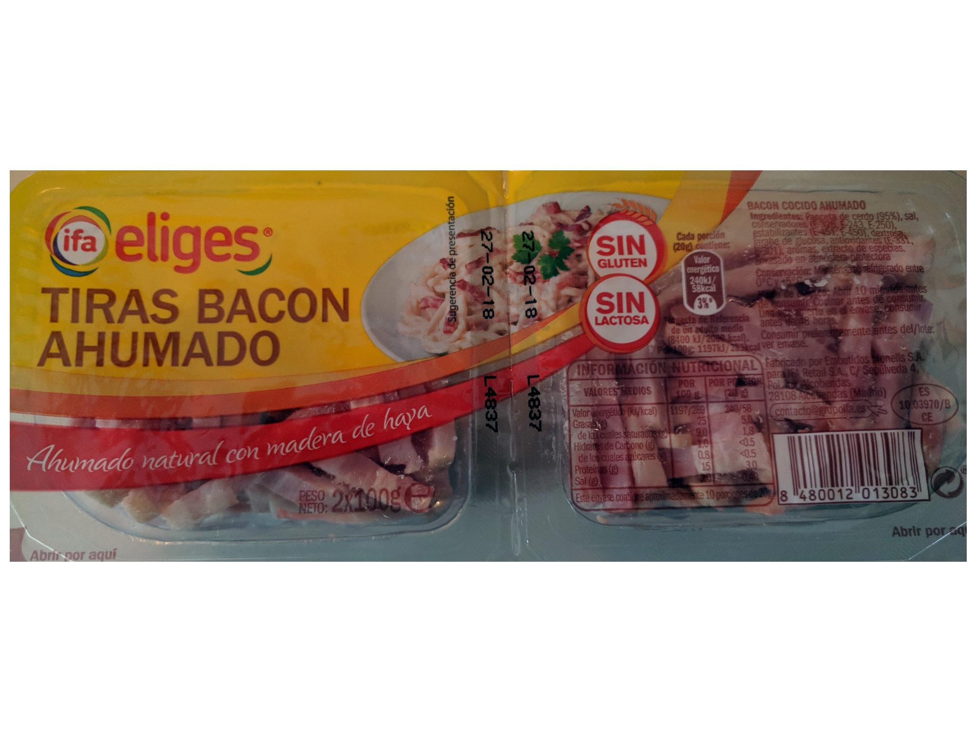 Bacon Cocido Ahumado - Producte - es