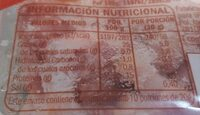 Bacon Cocido Ahumado - Informació nutricional - es