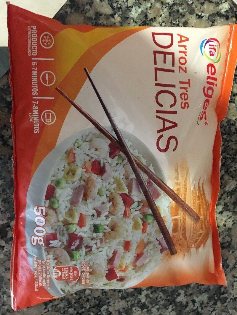 Arroz tres delicias - Producte