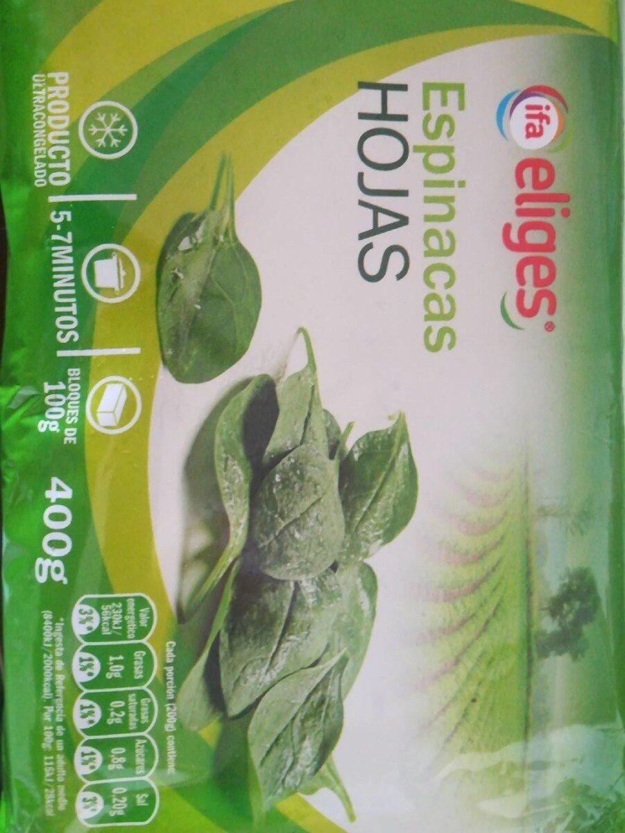 Espinacas hojas - Product - es