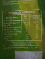 Zanahorias baby - Valori nutrizionali - es