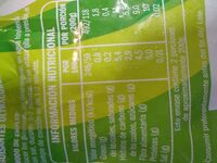 Guisantes congelados - Informació nutricional