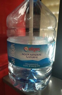 Agua mineral natural - Product - es