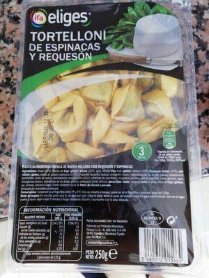 Tortelloni de espinacas y requesón - Producte - es