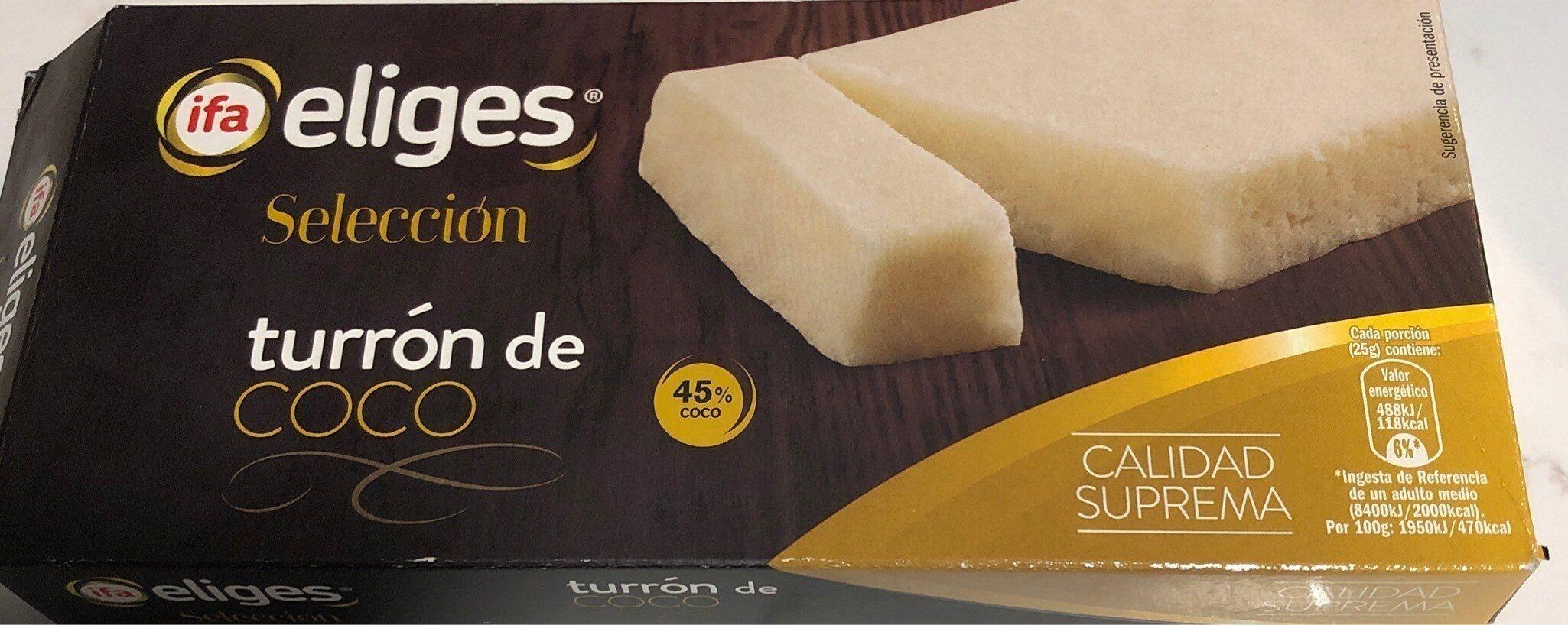 Turron coco ifa eliges - Product - es