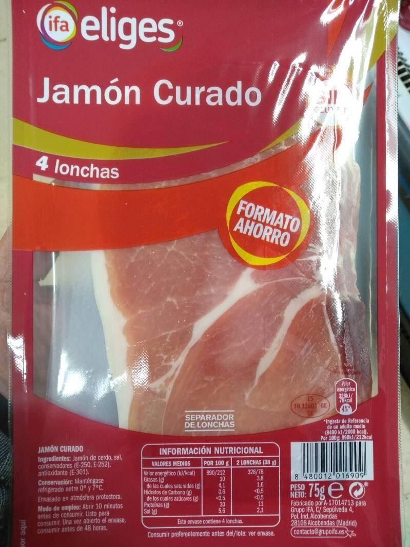 Jamon Curado Lonchas - Produit - fr
