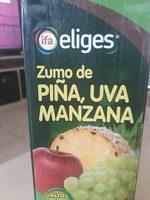 Zumo de piña, uva y manzana - Producte