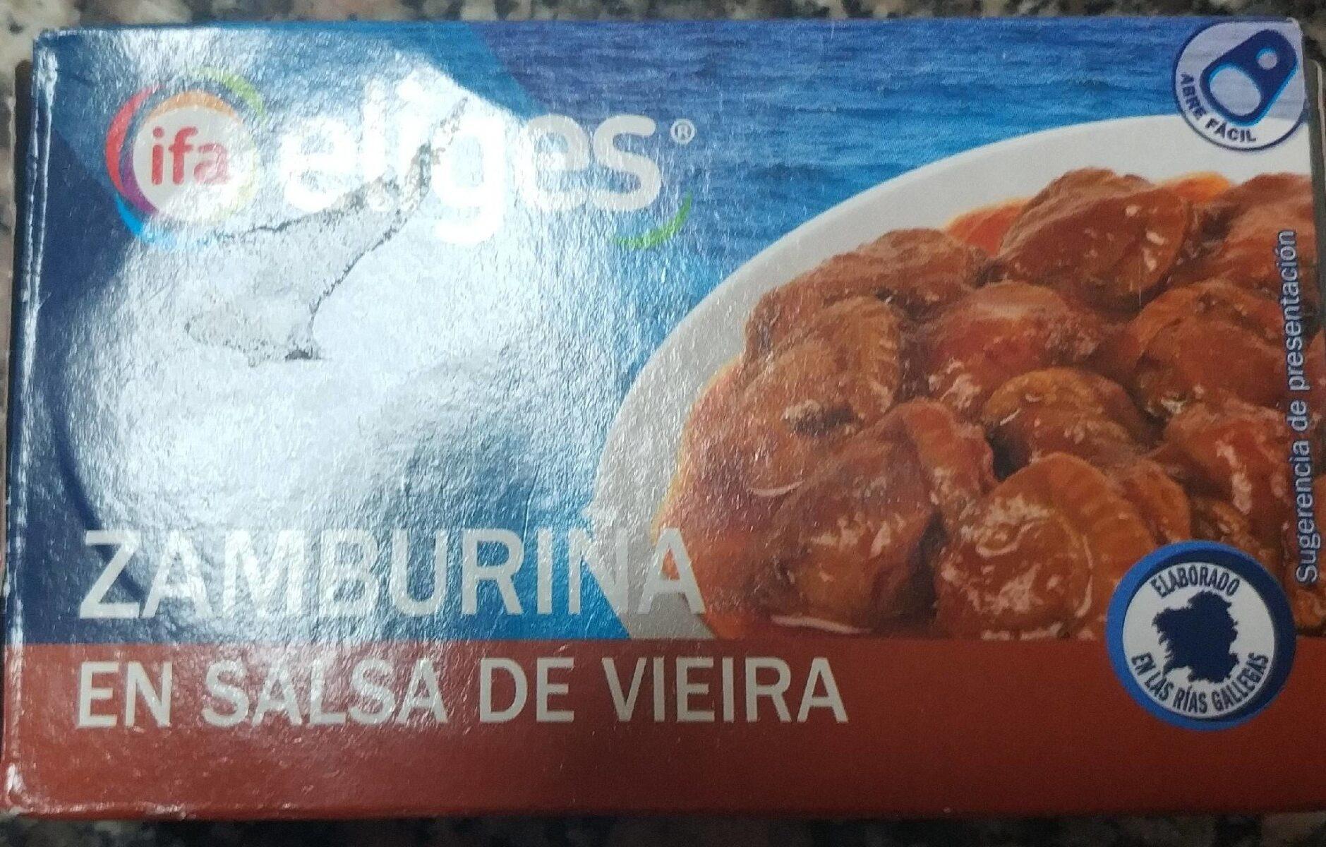 Zamburiña en salsa de vieira - Producto - es