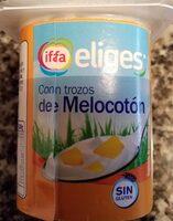 Yogur con trozos de melocotón - Product