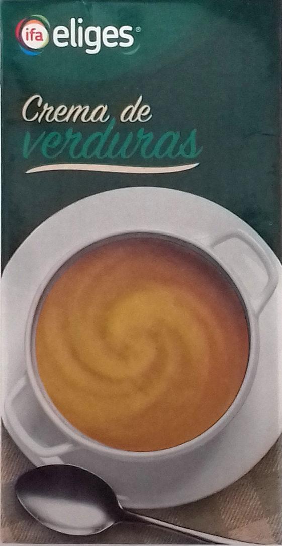 Crema de verduras - Producte