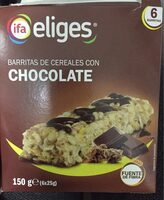 Barritas de cereales con chocolate - Producto