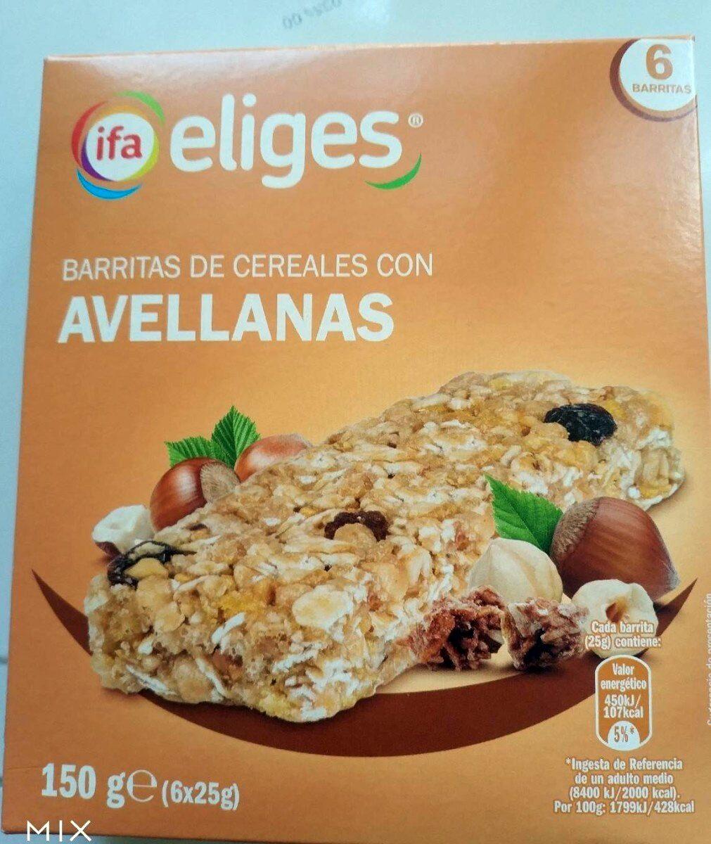 Barritas de cereales con avellanas - Product - es