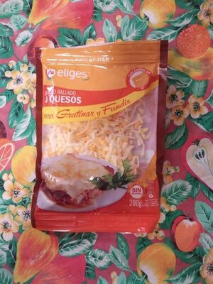 Queso rallado 4 quesos - Producte