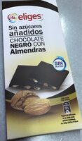 Chocolate Negro con Almendras sin azucares añadidos - Product