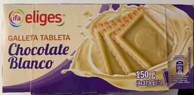 Galleta Tableta Chocolate Blanco