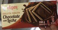 Galleta tableta chocolate con leche - Product - es