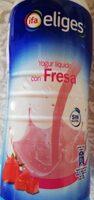 Yogur líquido con fresa - Product