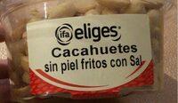 Cacahuetes repelados fritos y salados - Product - es