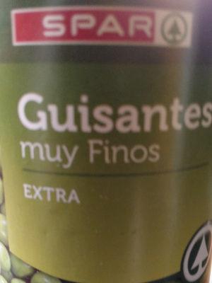 Guisantes muy finos. Extra - Product