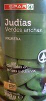 Judias verdes - Product