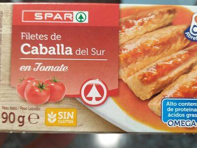 Filetes de Caballa del Sur - Product - fr