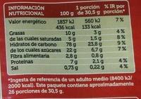 Galletas María Rustica - Información nutricional - es